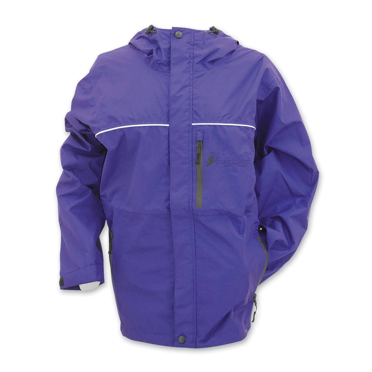 Frogg Toggs Women's Java Toadz Purple Rain Jacket
