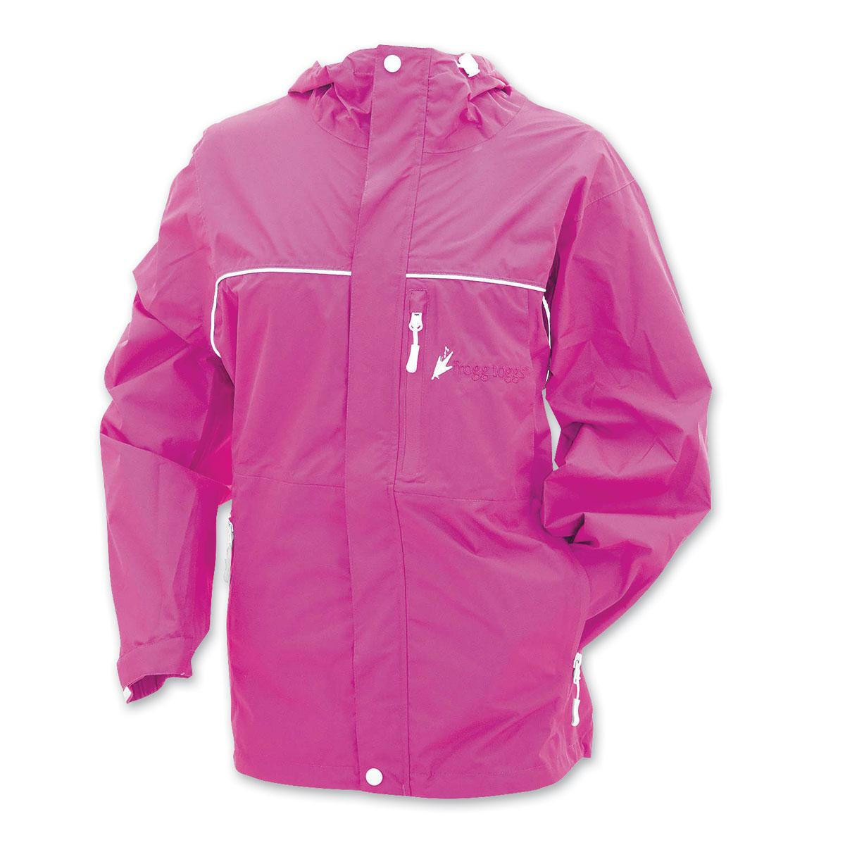 Frogg Toggs Women's Java Toadz Pink Rain Jacket
