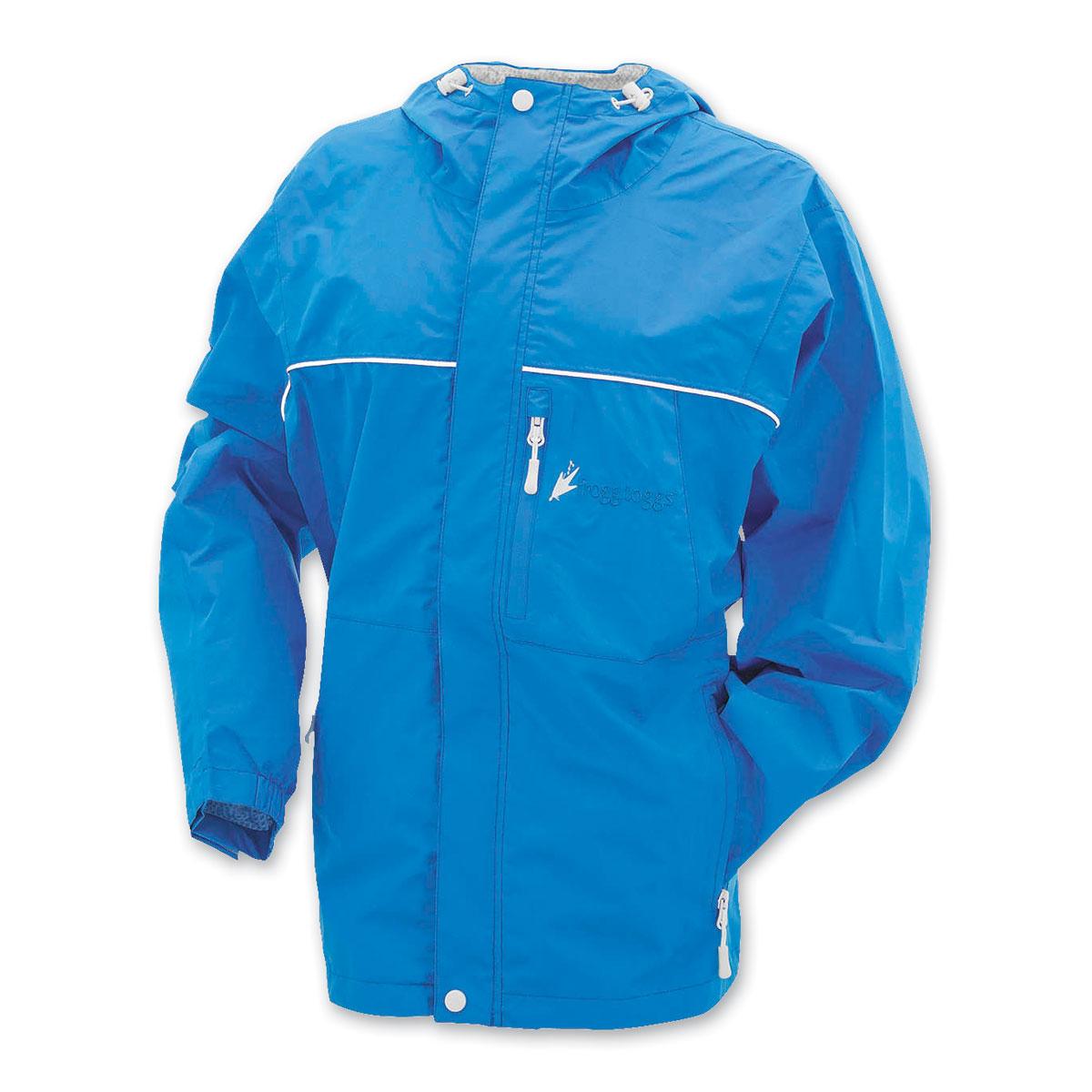 Frogg Toggs Women's Java Toadz Blue Rain Jacket