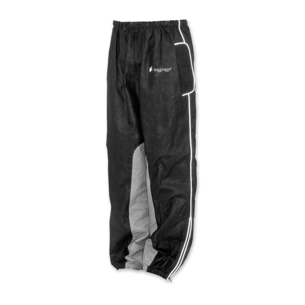 Frogg Toggs Women's Road Toad Black Rain Pants