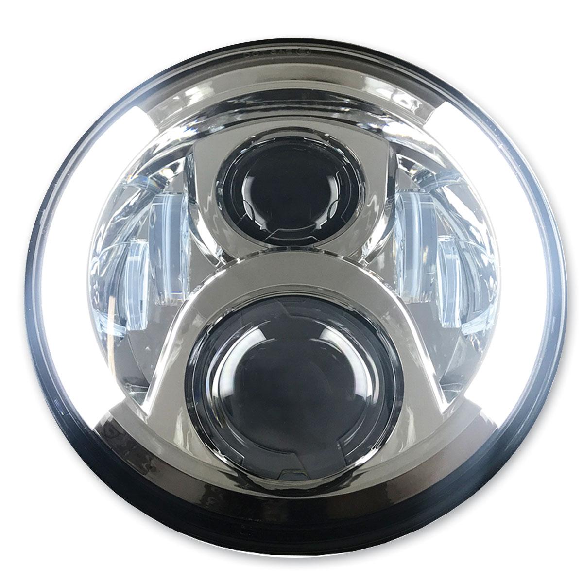 PathfinderLED 7″ Chrome LED Headlight