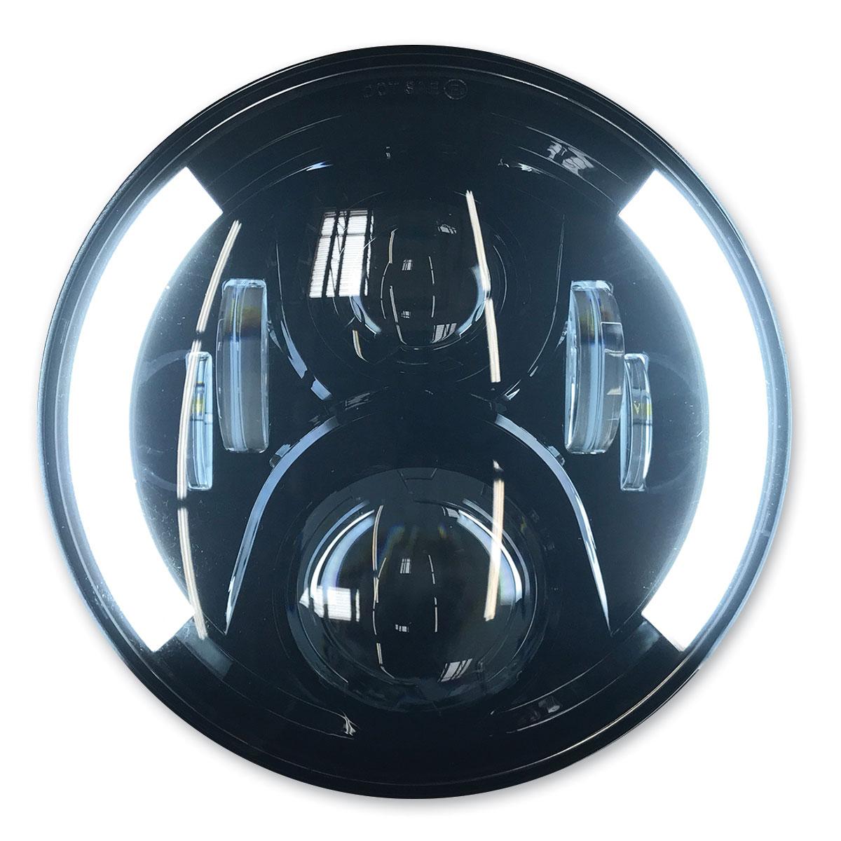 PathfinderLED 7″ Black LED Headlight