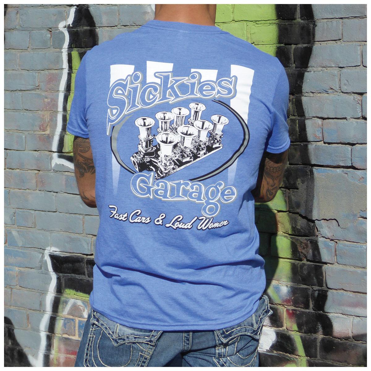Sick Boy Men's Sickie's Garage Injection Royal Heather T-Shirt