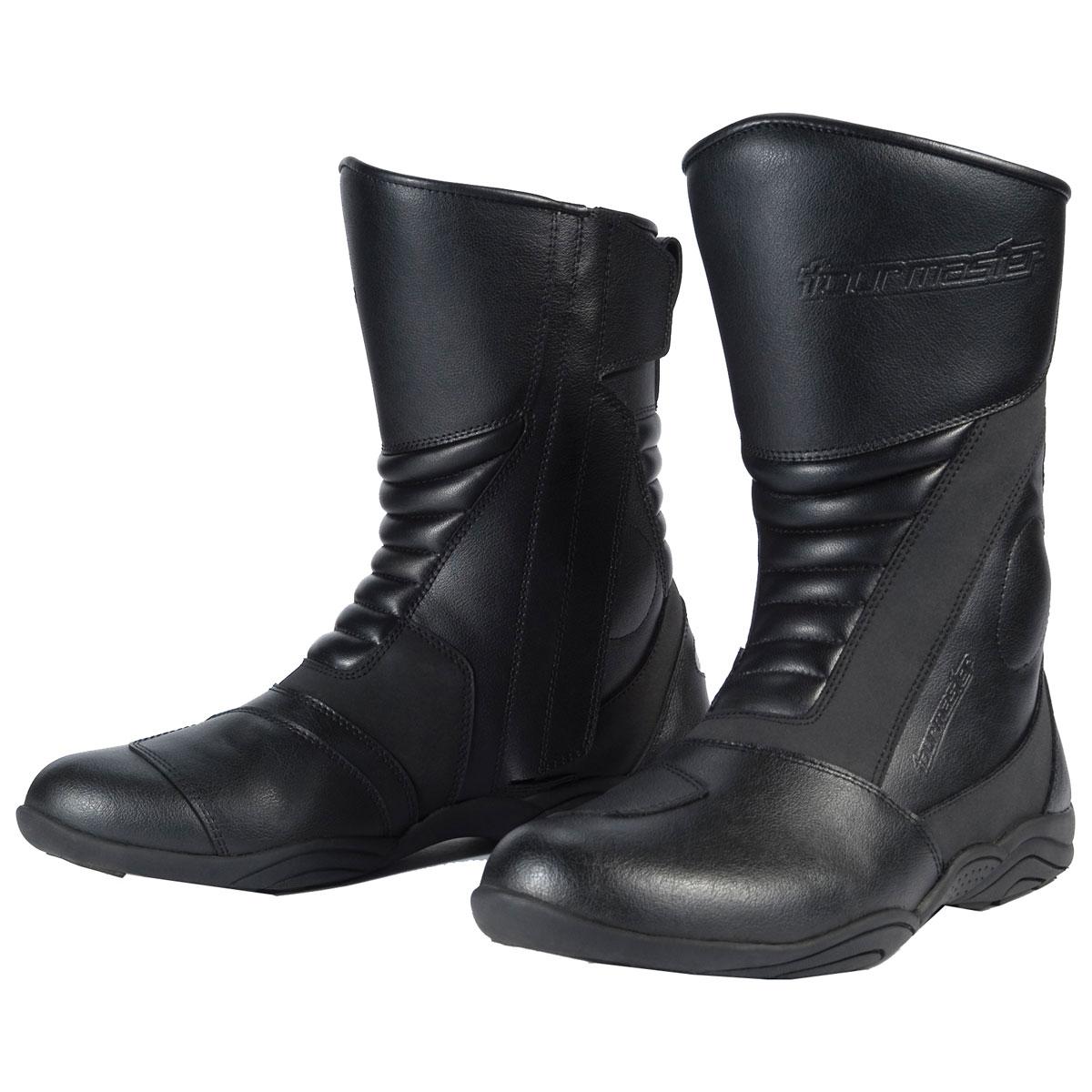 Tour Master Women's Solution Waterproof 2.0 Black Boots