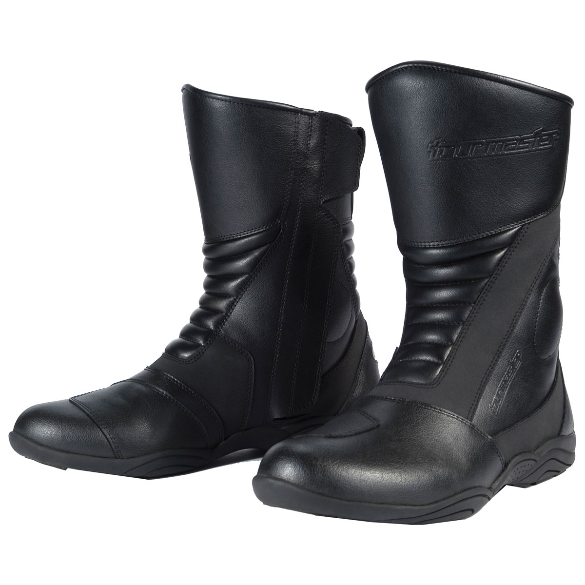 Tour Master Women's Solution Waterproof 2.0 Black Boots