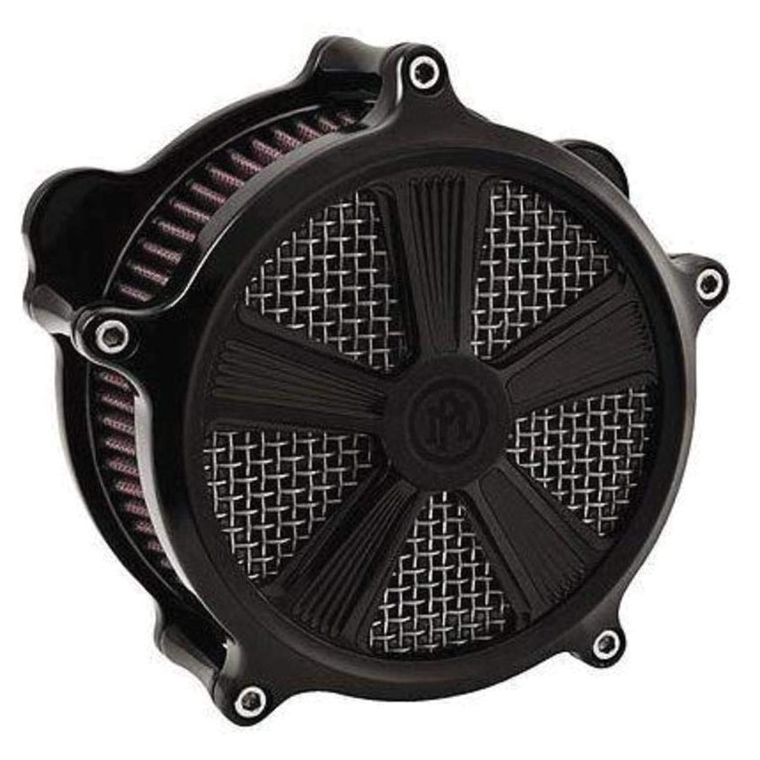 Performance Machine Shock Faceplate for Super Gas Air Cleaner Black Ops