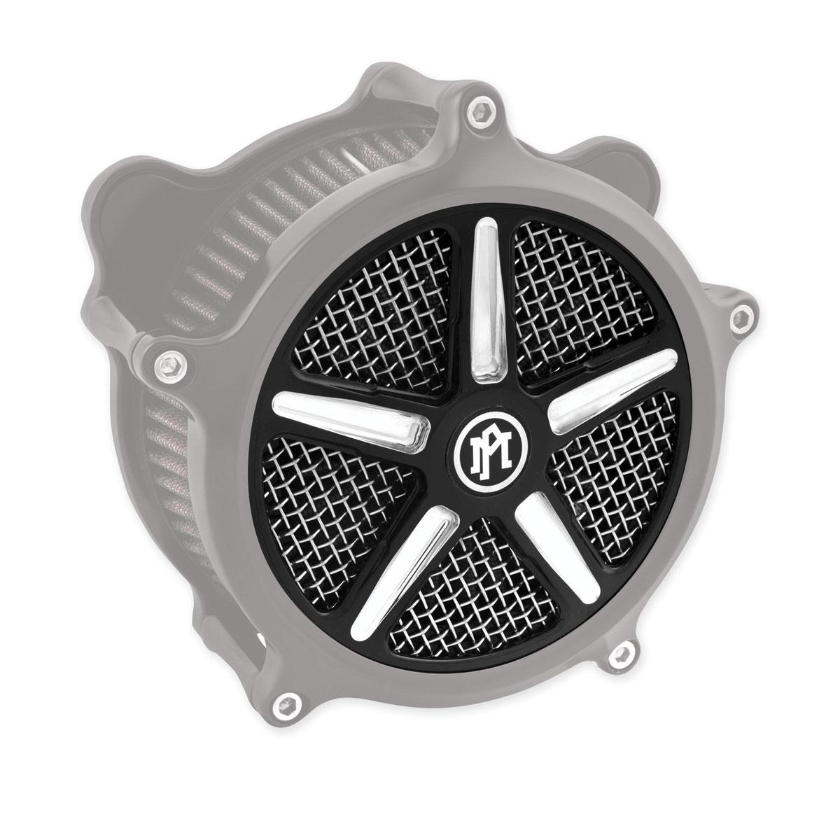 Performance Machine Formula Faceplate for Super Gas Air Cleaner Contrast Cut Platinum