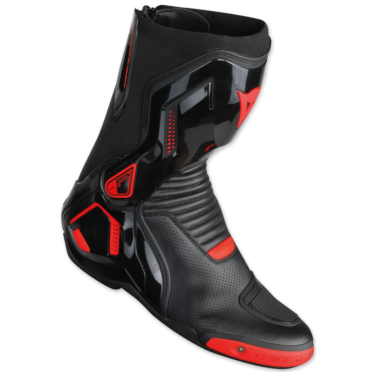 Dainese Course D1 Out Air Black/Fluo Red Boots