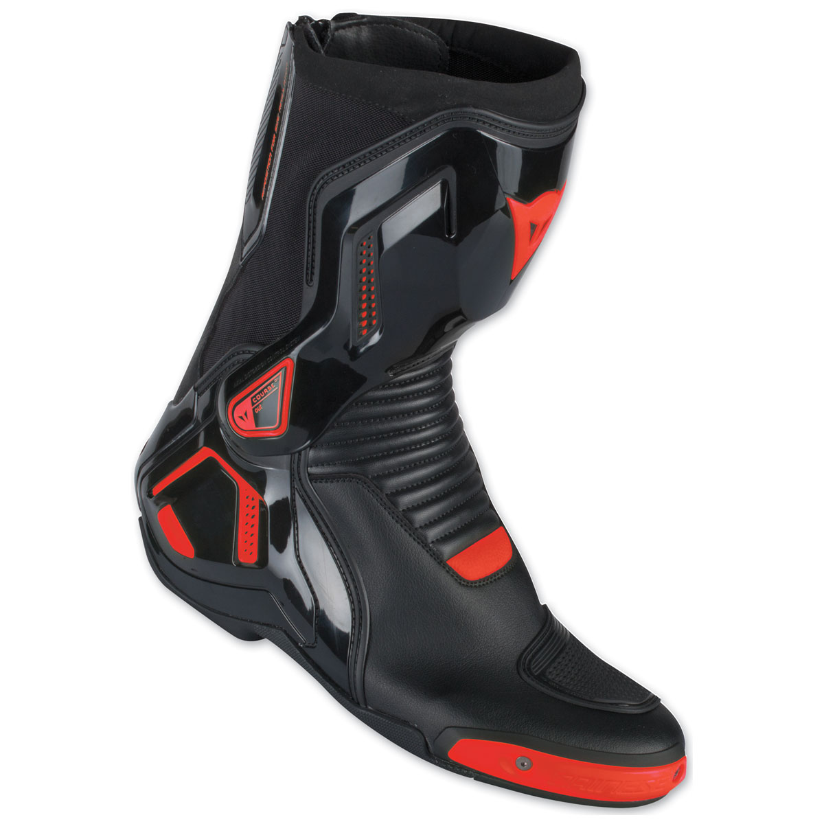 Dainese Course D1 Out Black/Fluo Red Boots