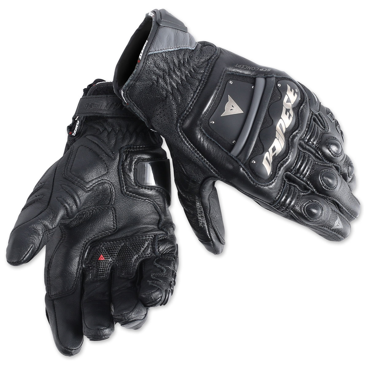Dainese Men's 4 Stroke Evo Black Gloves