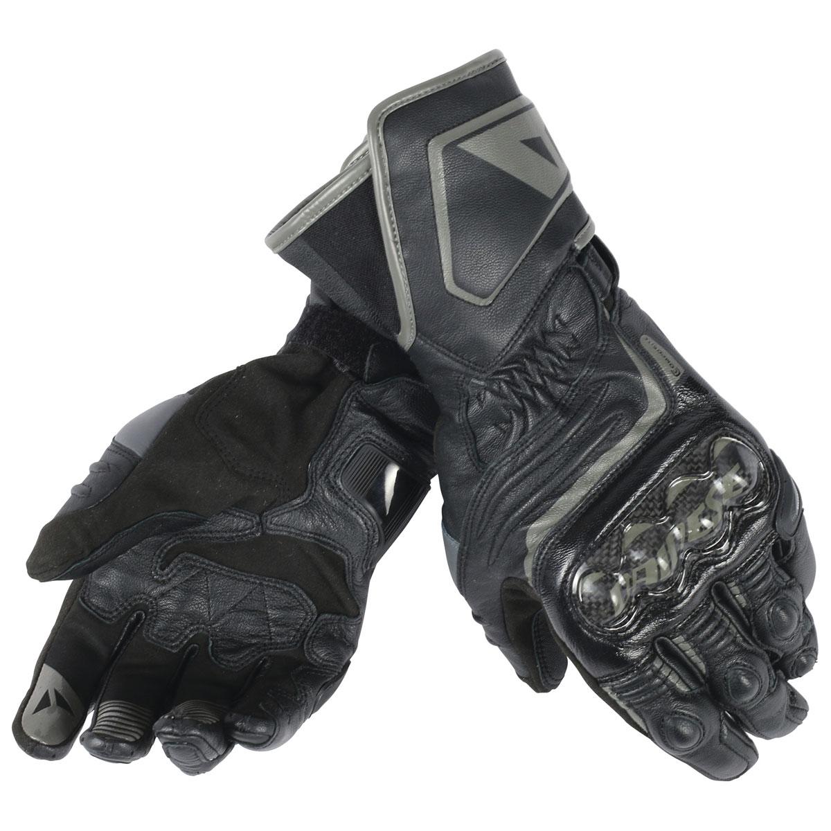 Dainese Men's Carbon D1 Long Black Gloves