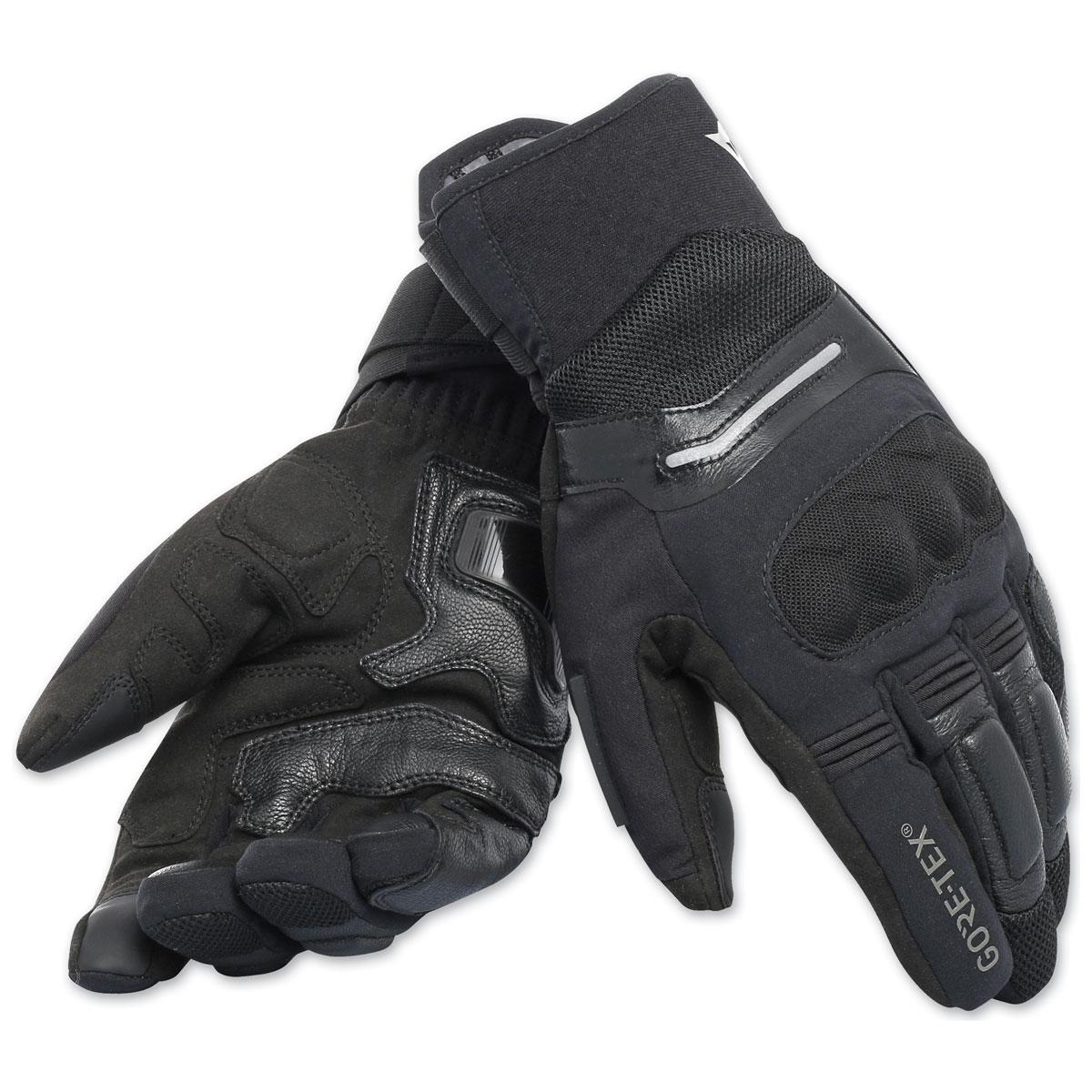 Dainese Men's Solarys Gore-Tex Short Black Gloves