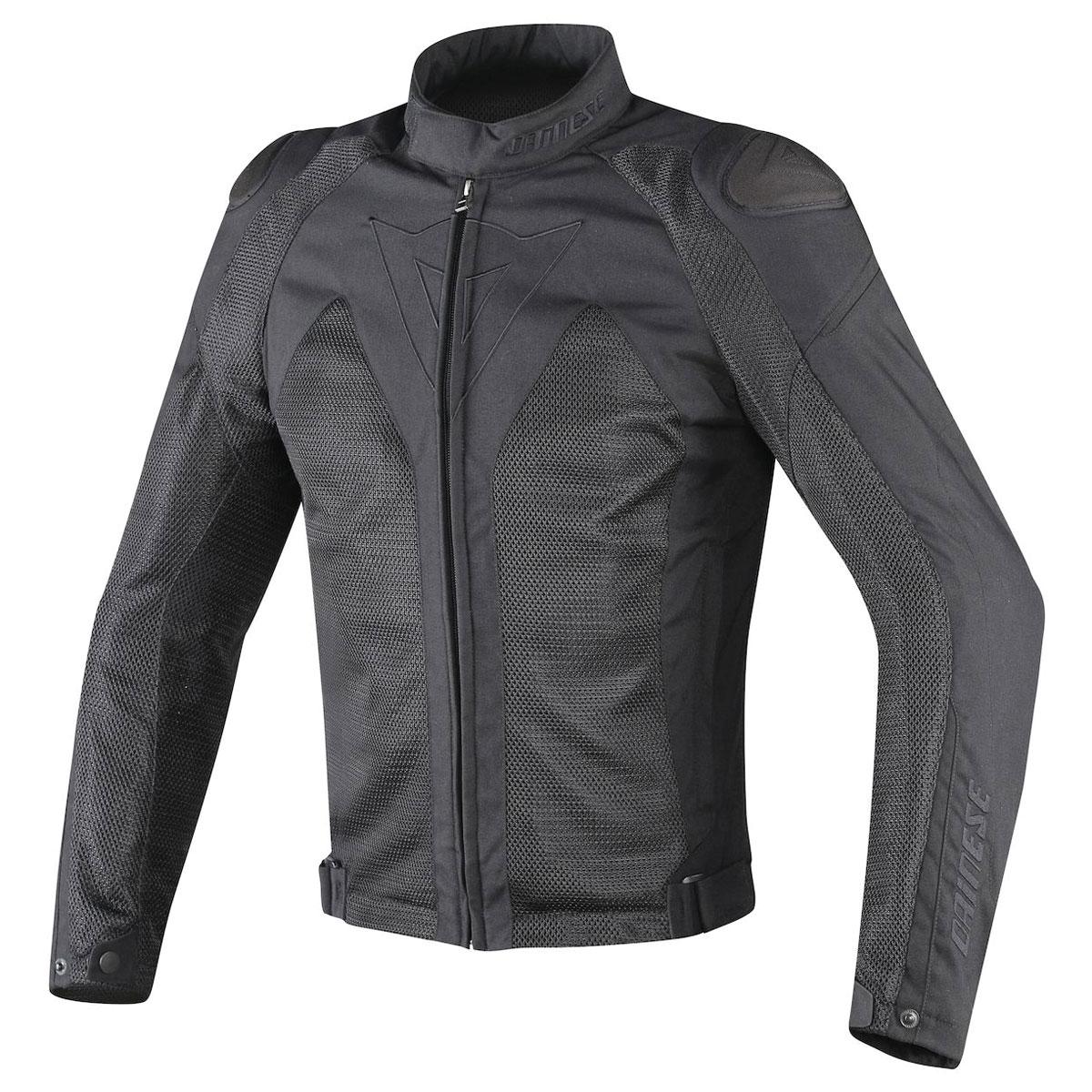 Dainese Men's Hyper Flux D-Dry Black Jacket