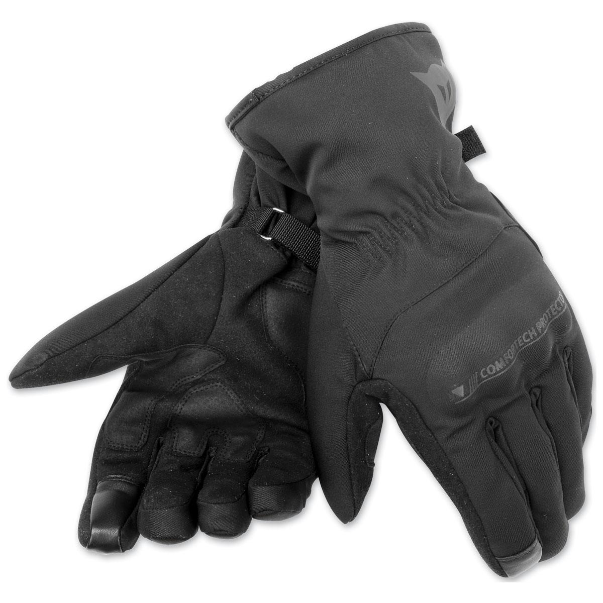 Dainese Unisex Alley D-Dry Black Gloves