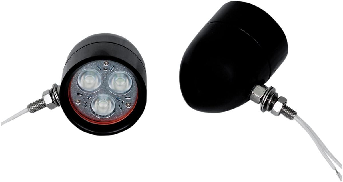 Custom Dynamics Cool Magic Billet LED Driving Lights