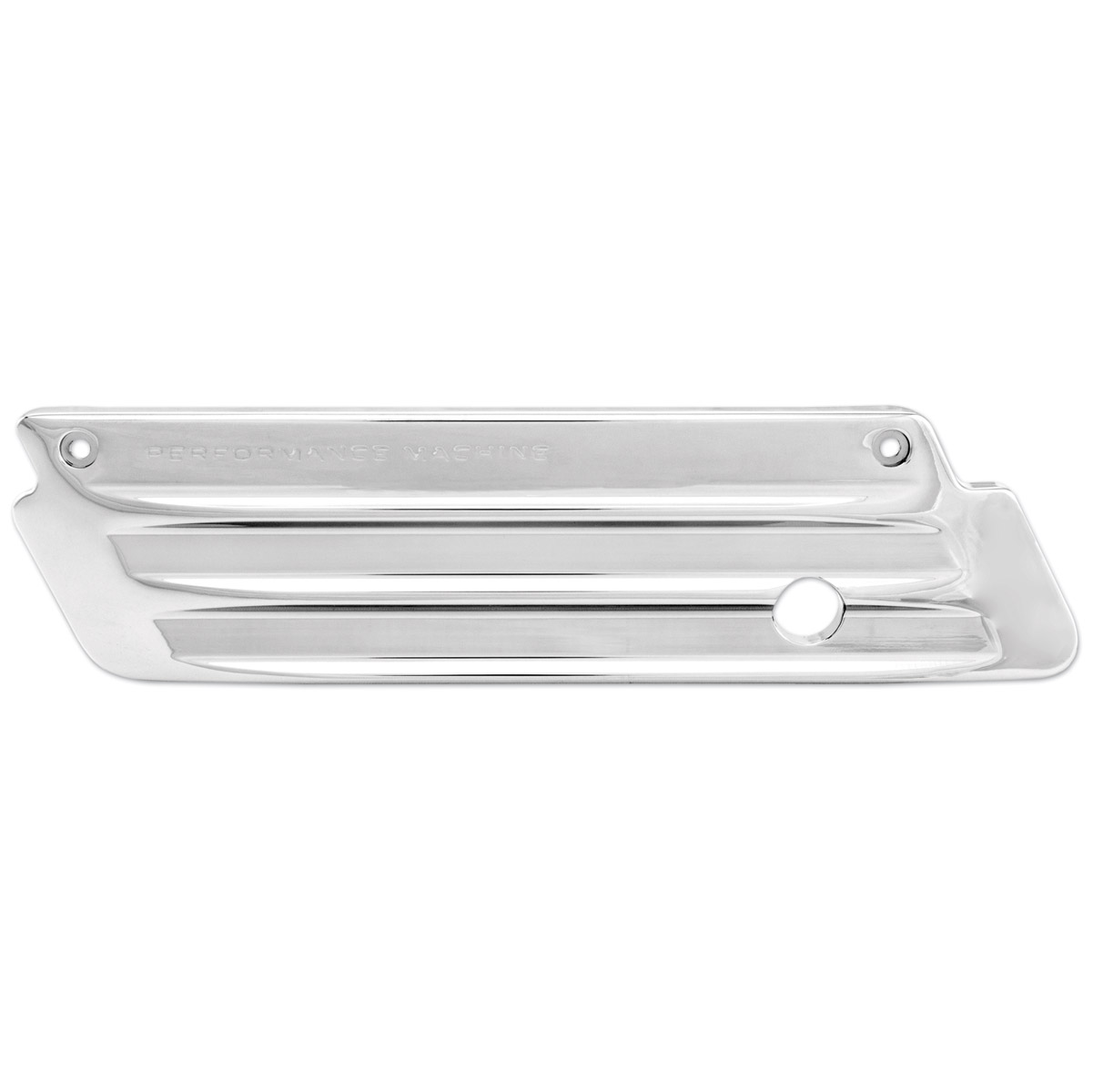 Performance Machine Chrome Drive Saddlebag Latch Cover