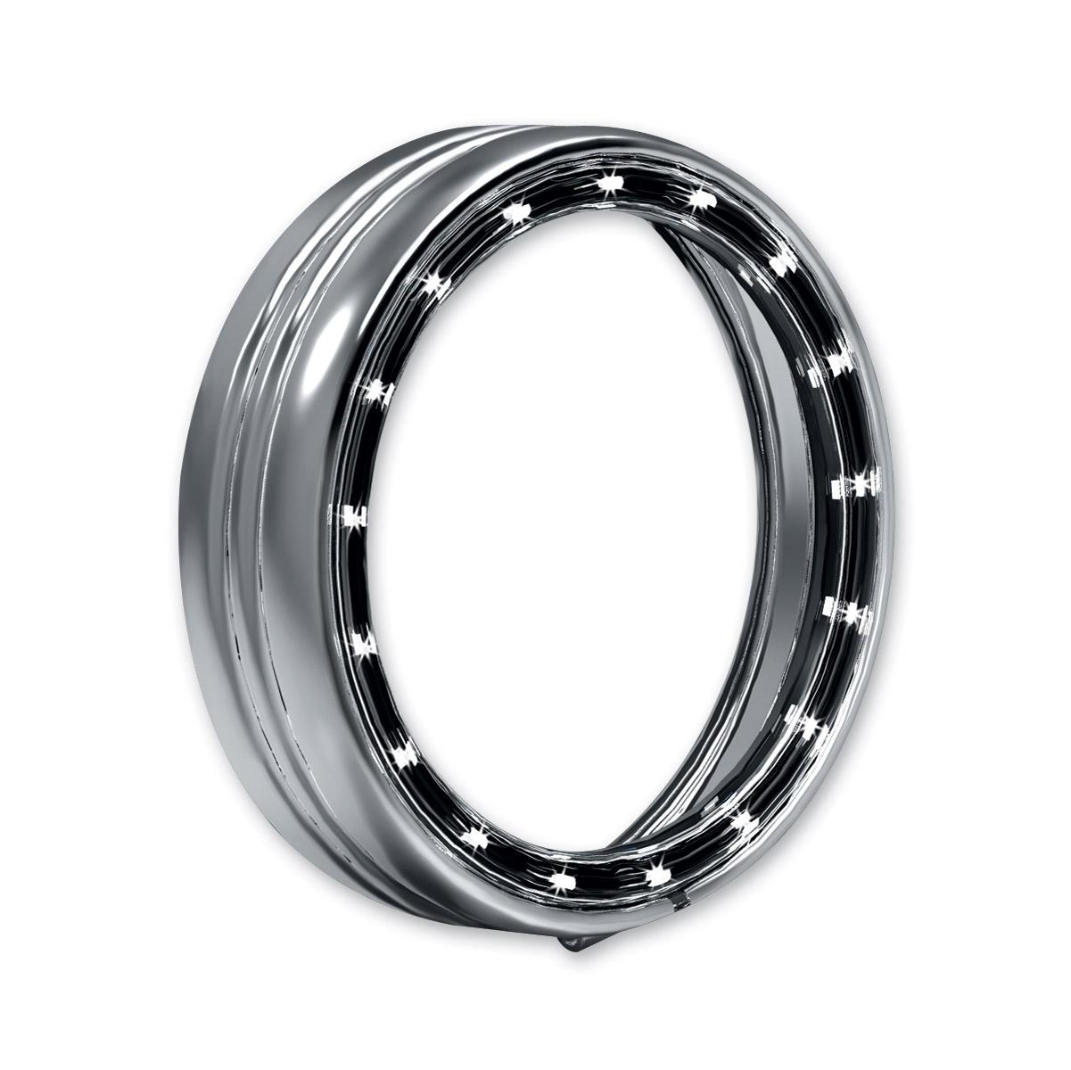Kuryakyn Chrome L.E.D. Halo Trim Ring