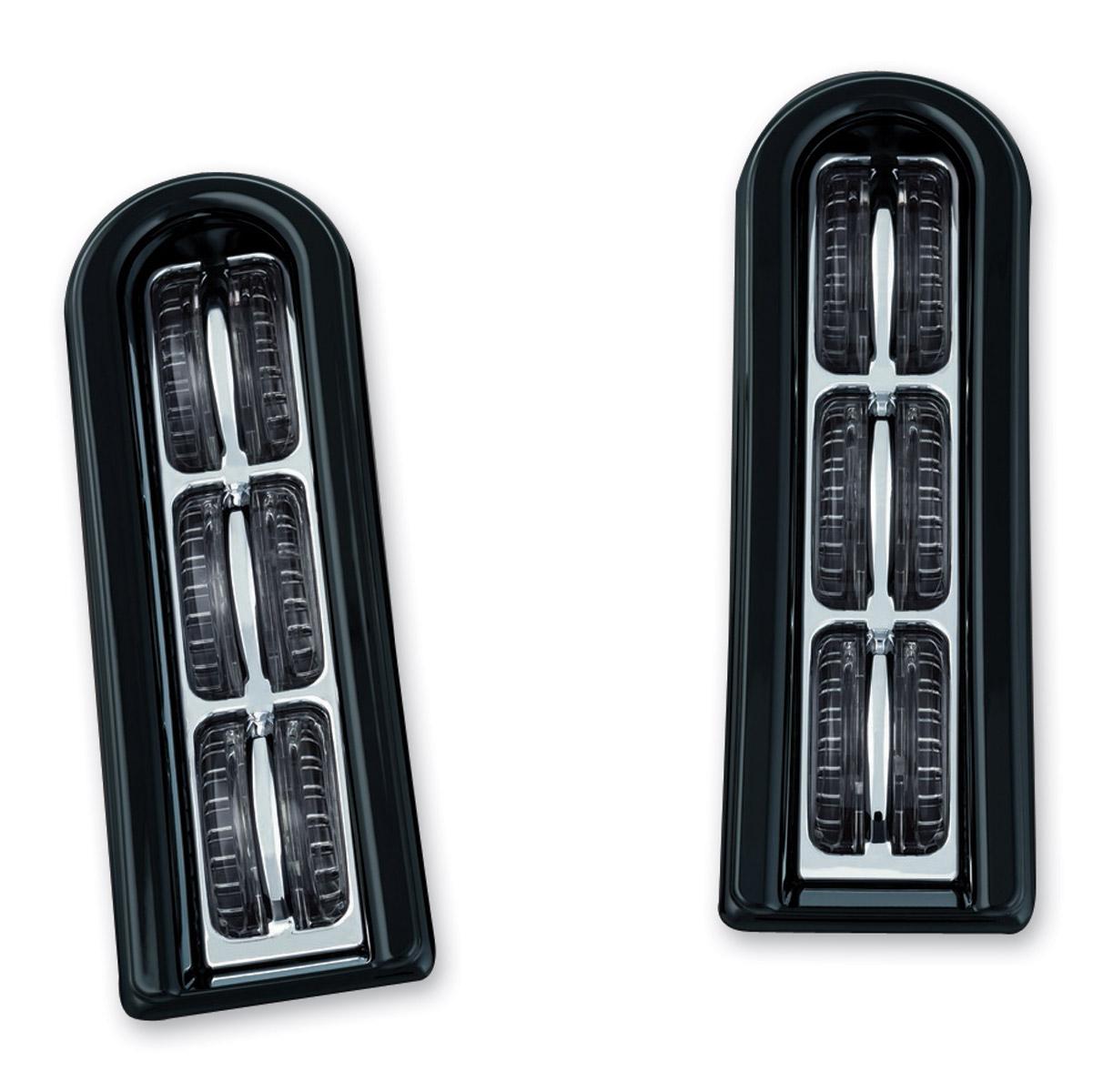 Kuryakyn LED Inserts for Saddlebag Supports