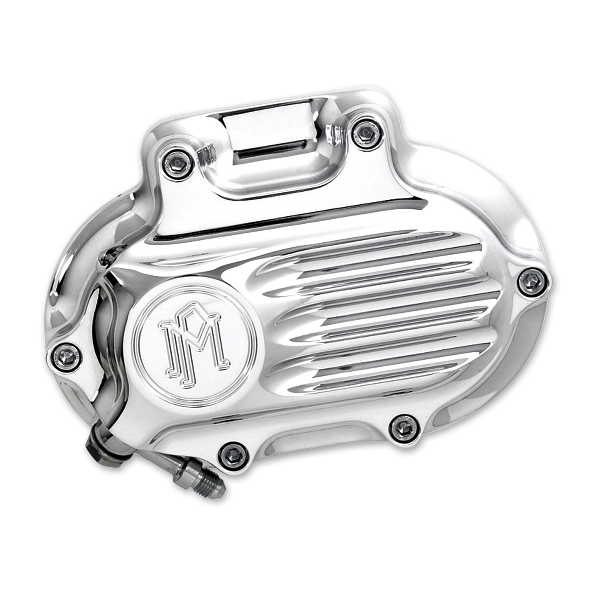 Performance Machine Fluted Hydraulic Clutch Release Cover Contrast Cut