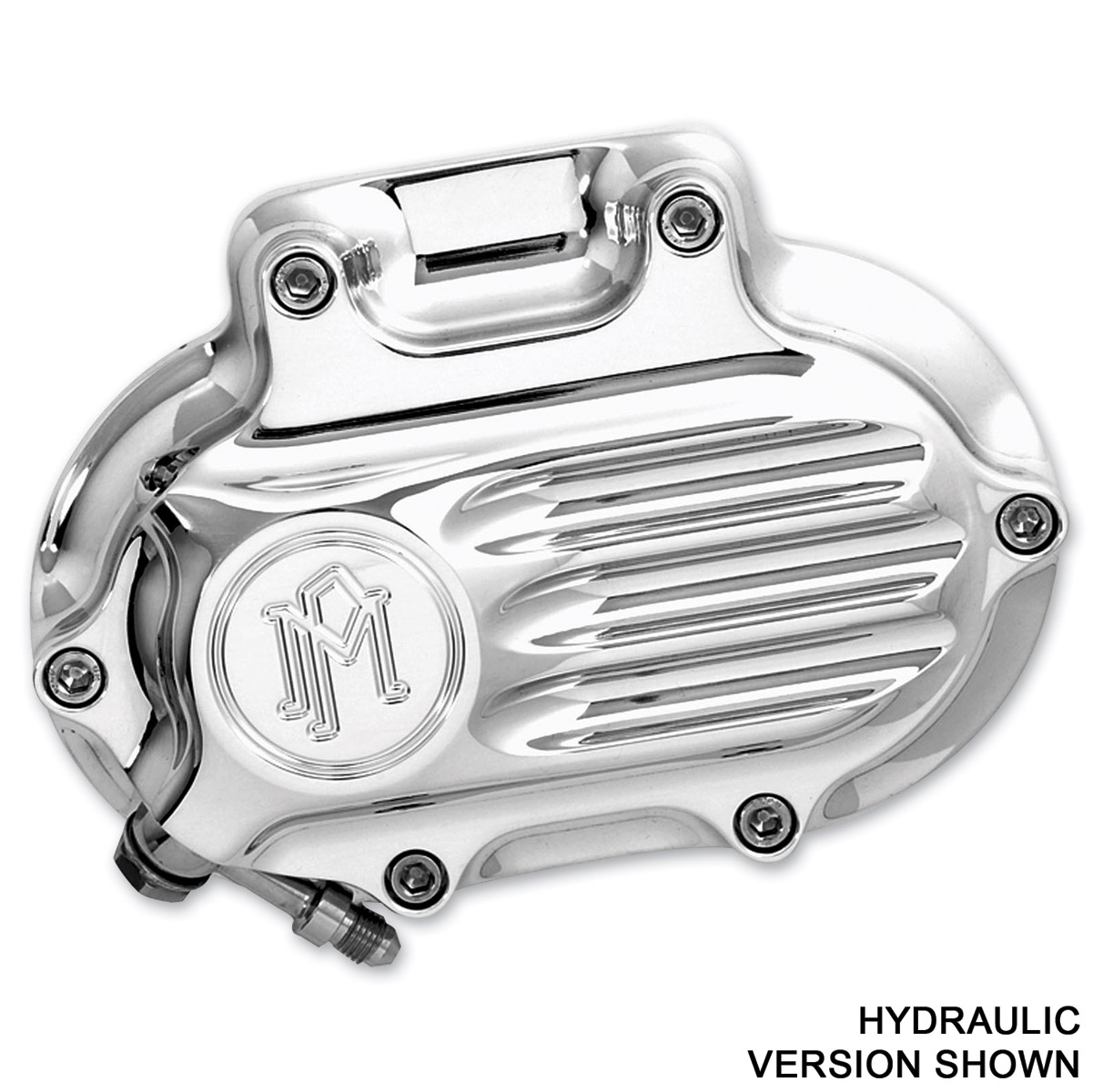 Performance Machine Fluted Clutch Release Cover Polished