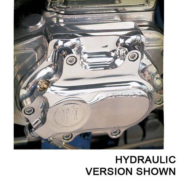 Performance Machine Smooth Clutch Release Cover Polished