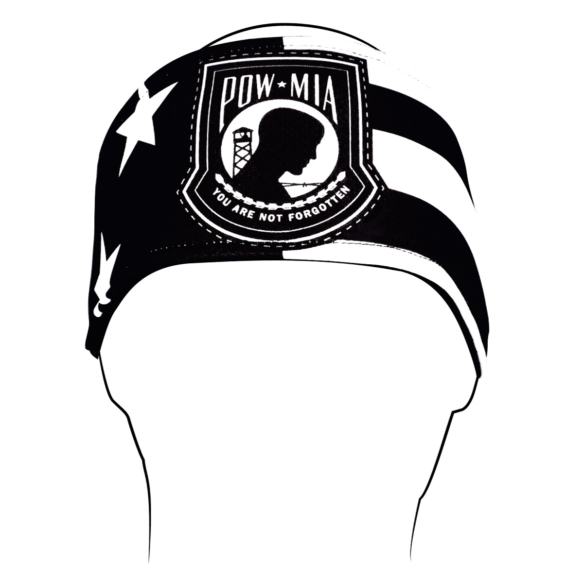 ZAN headgear POW*MIA Headband