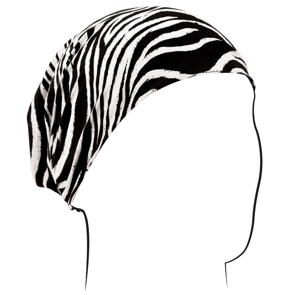 ZAN headgear Zebra Print Headwrap