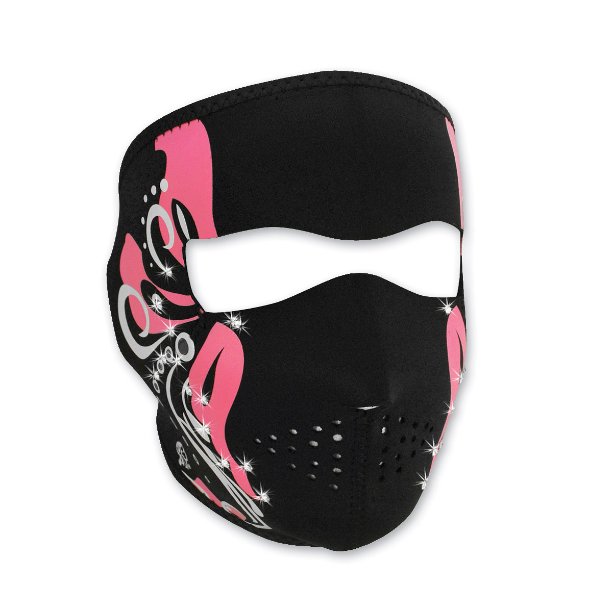 ZAN headgear Highway Honey Mardi Gras Neoprene Face Mask