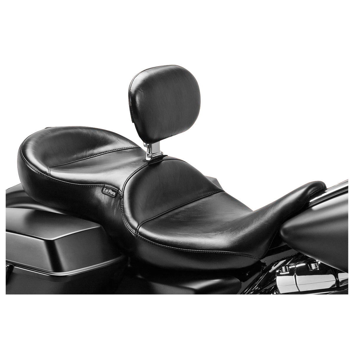 Le Pera Continental Seat w/ Driver Backrest