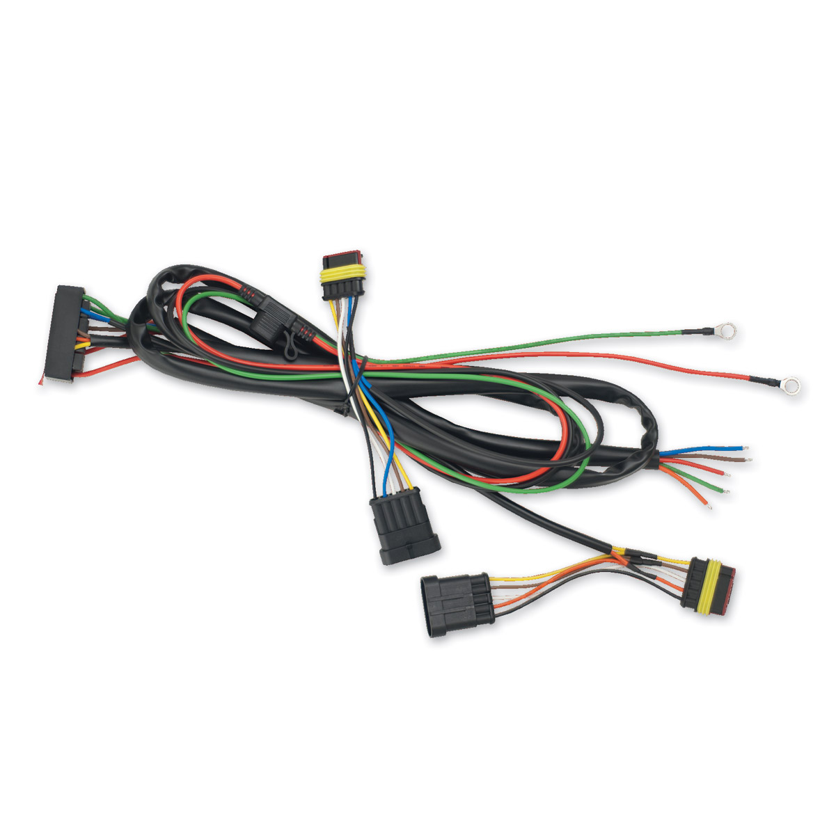show chrome accessories trailer wiring harness 161 427 j p cycles