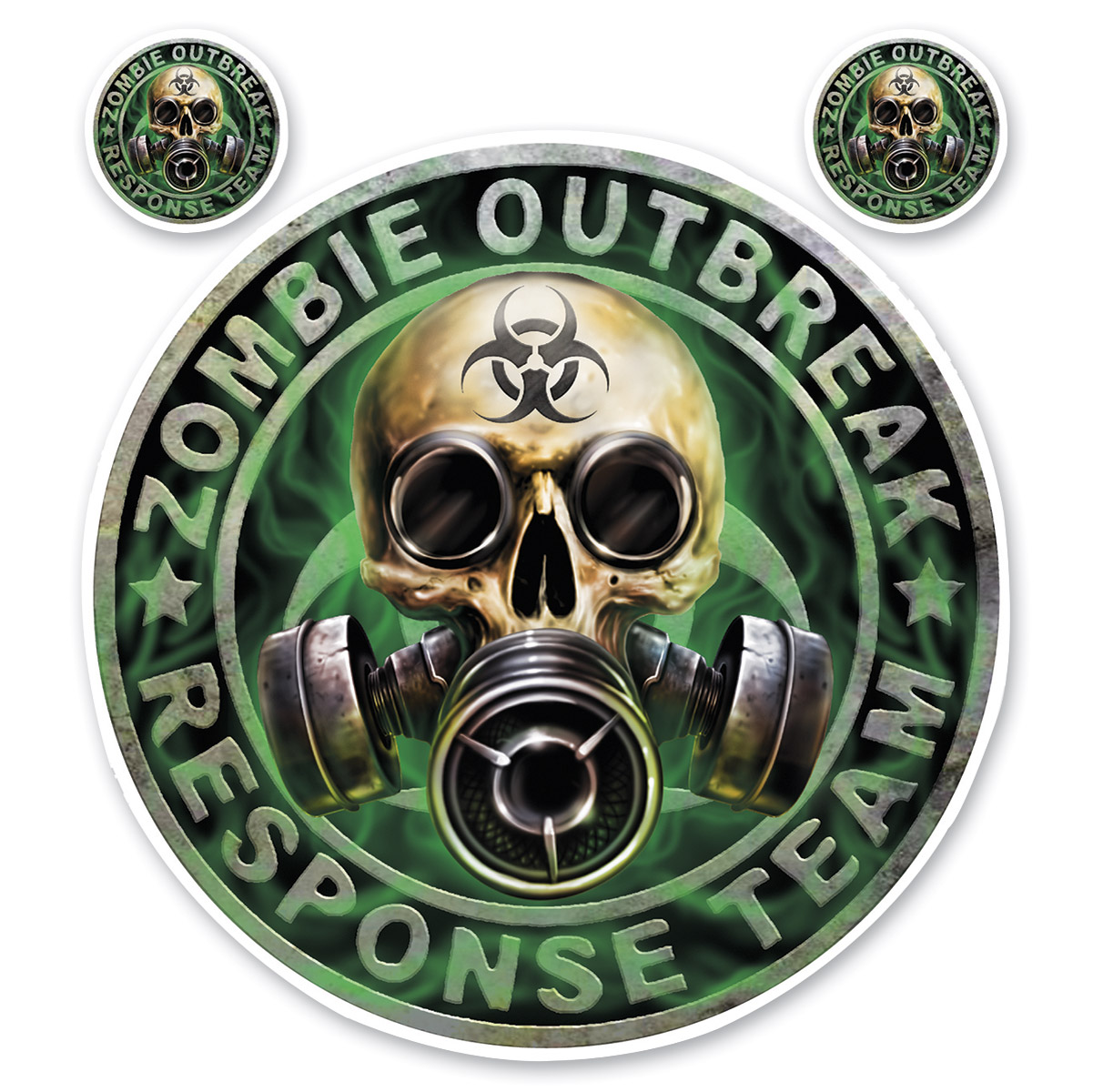 Lethal Threat Zombie Outbreak Decal
