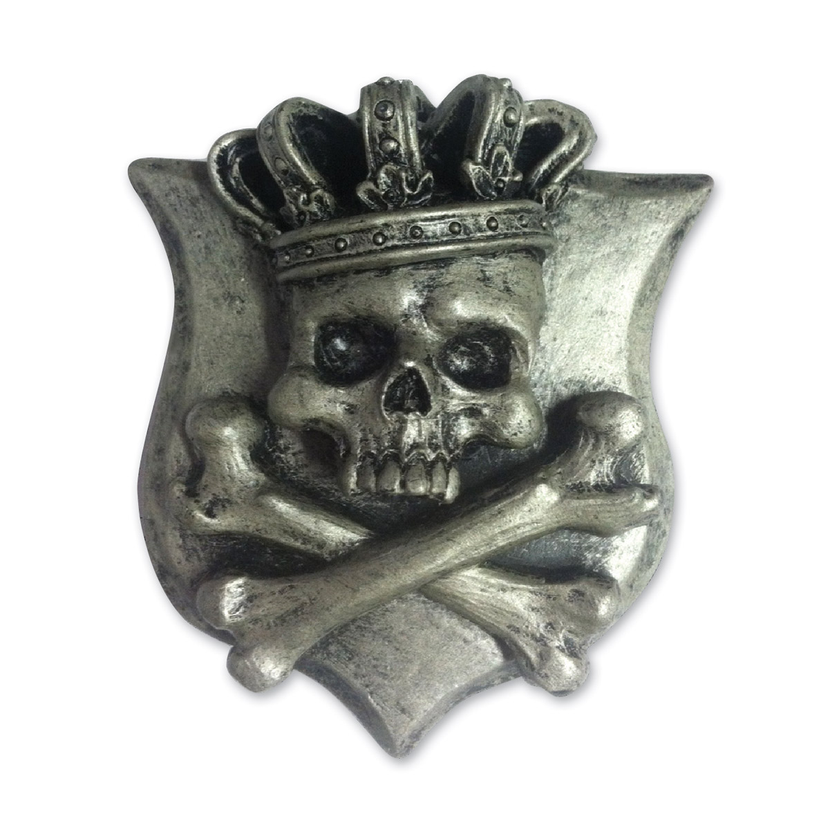 Lethal Threat King Skull 3-D Emblem