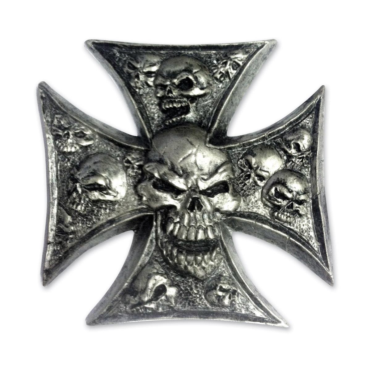 Lethal Threat Iron Cross 3-D Emblem