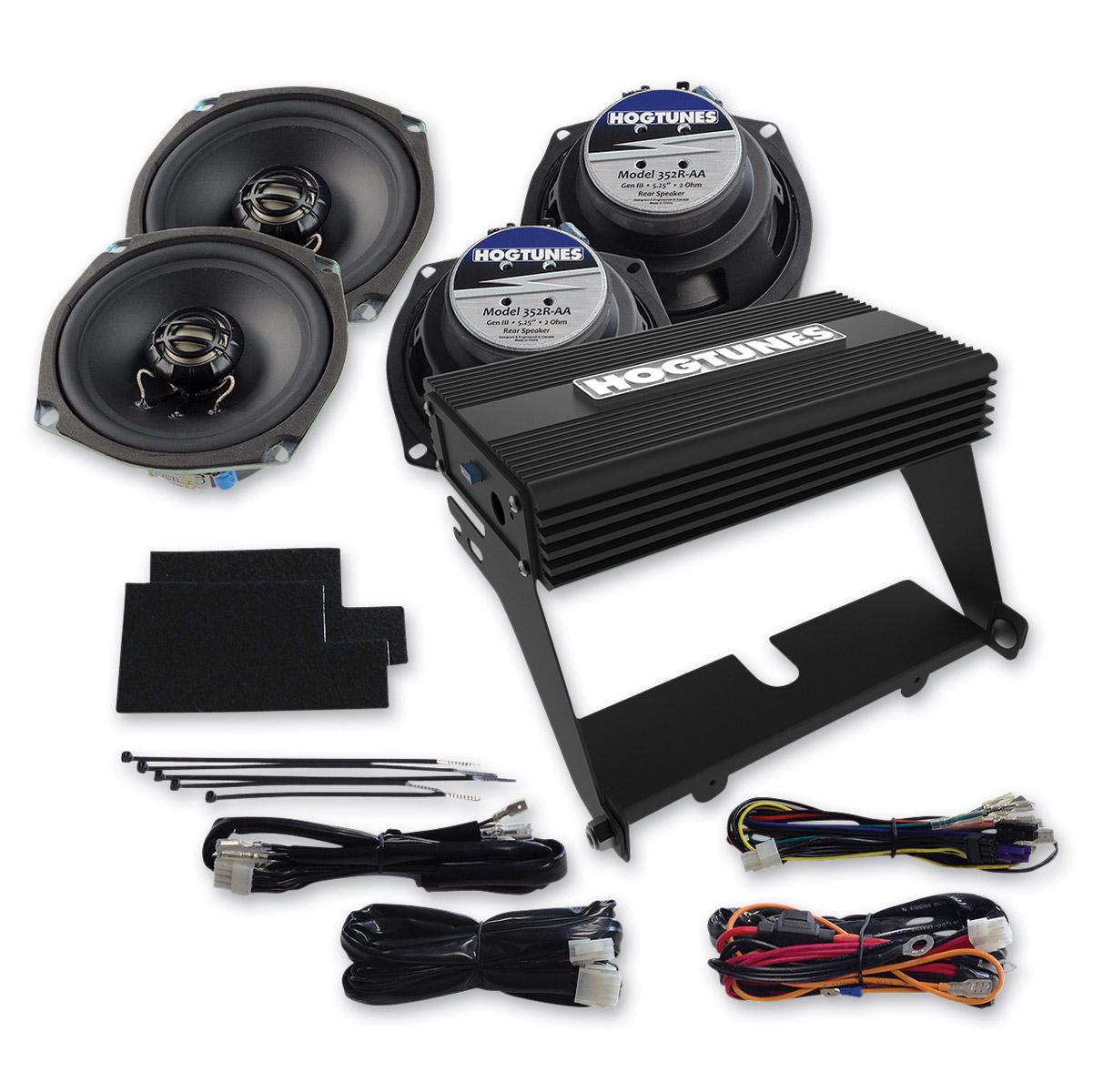 Hogtunes Amp and Speaker Kit for FLHT