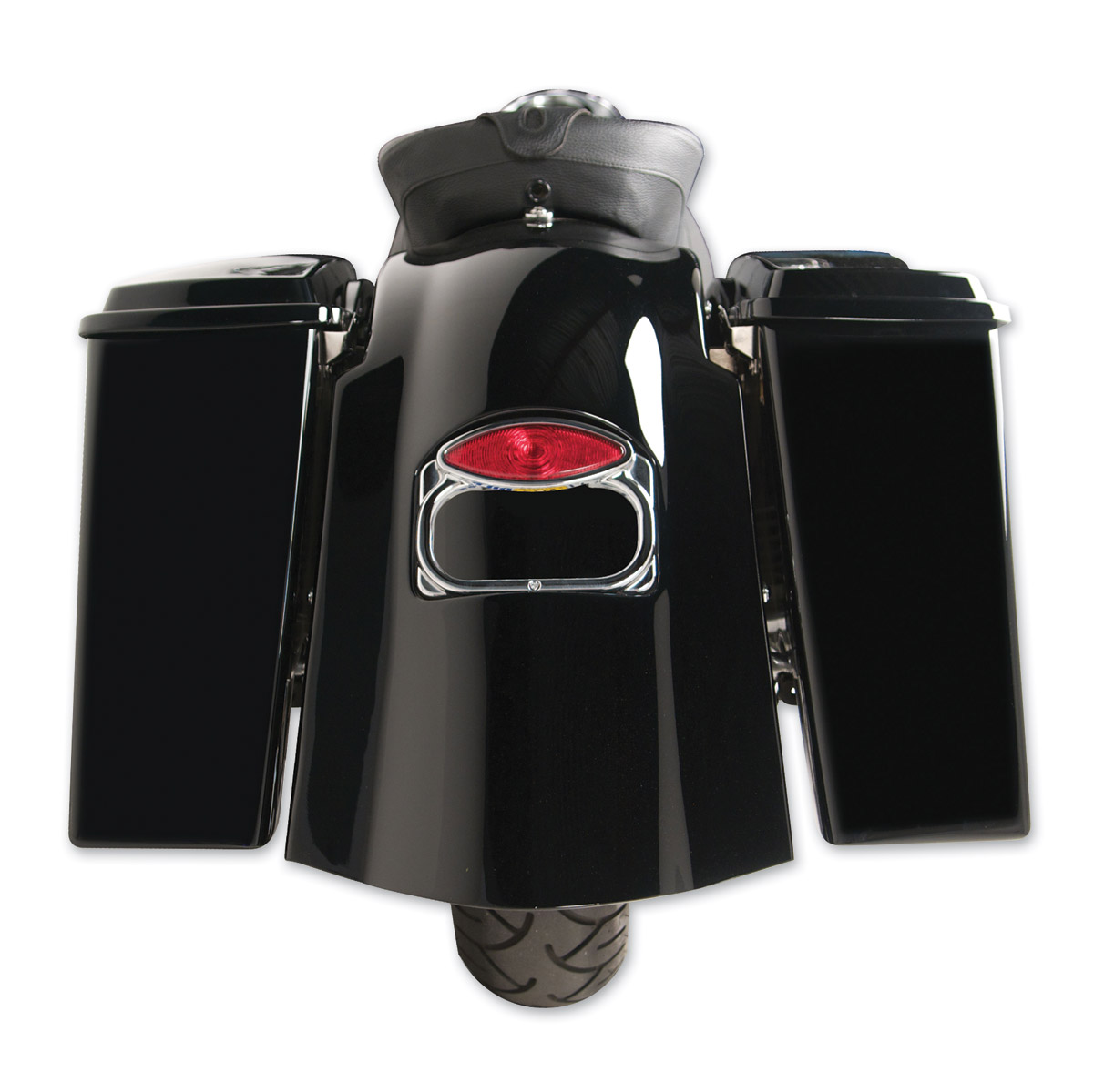Arlen Ness Bagger-Tail Rear Fender with No Cut-Outs