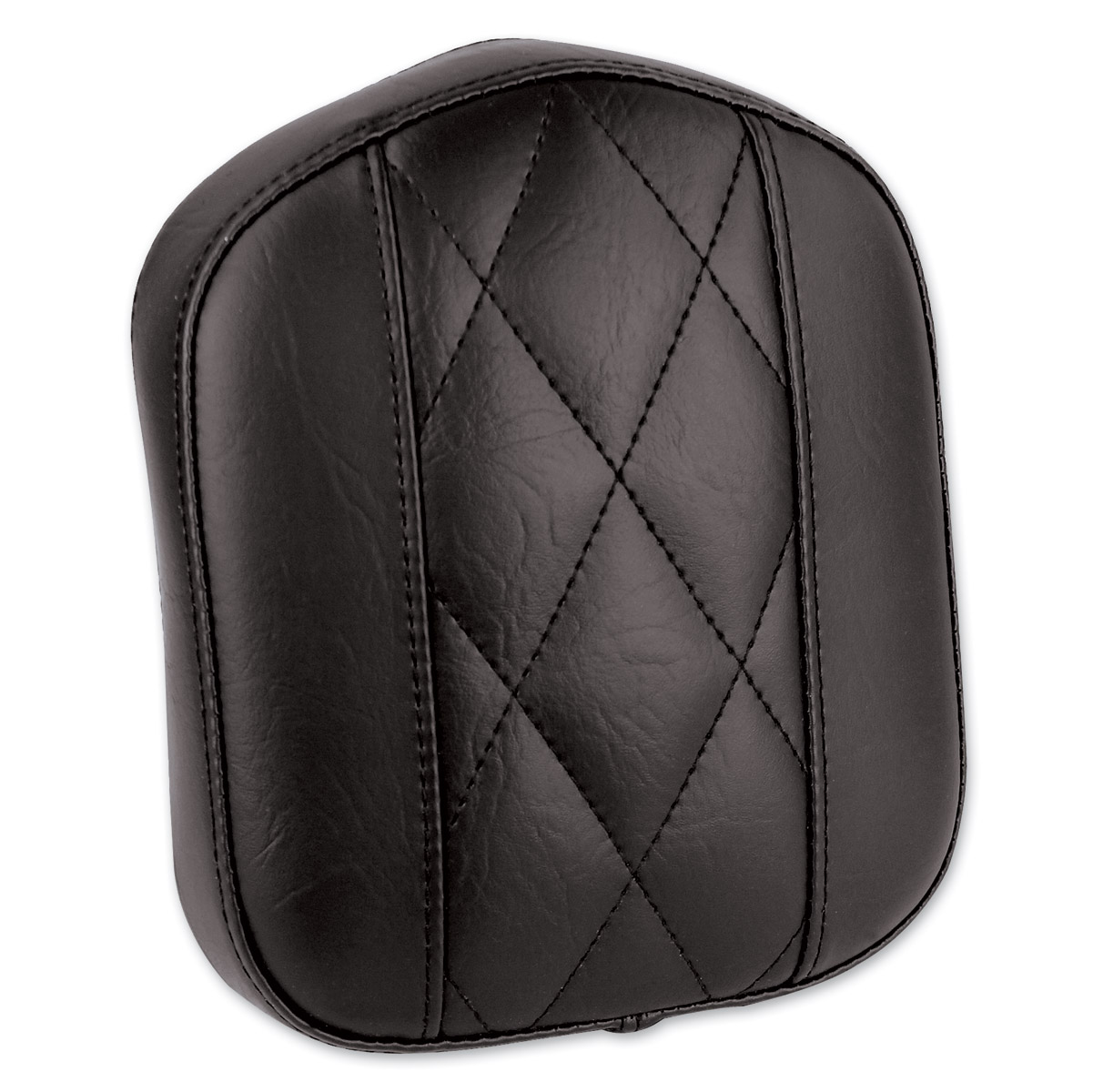 Mustang Diamond Stitch Bracket Style Black Sissy Bar Pad