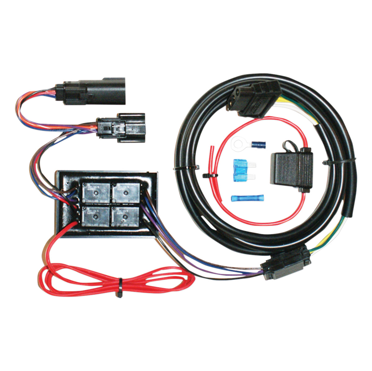 Khrome Werks 4 Wire Isolator With Converter Trailer Wiring Kit | 162 ...