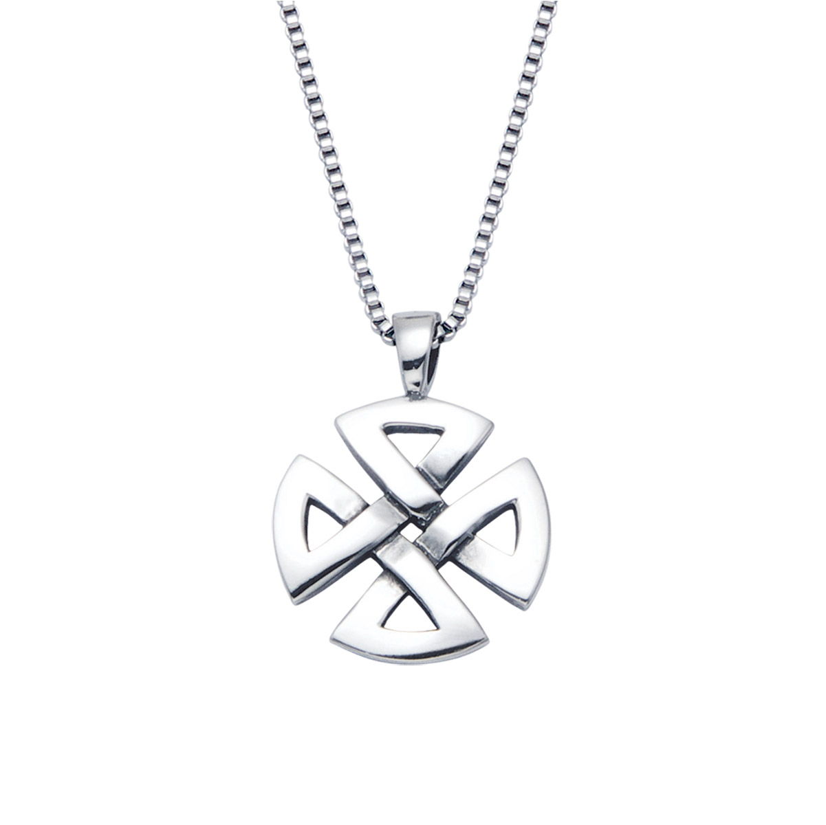 Wildthings Stainless Steel Necklace Infinity Cross with 20″ Chain