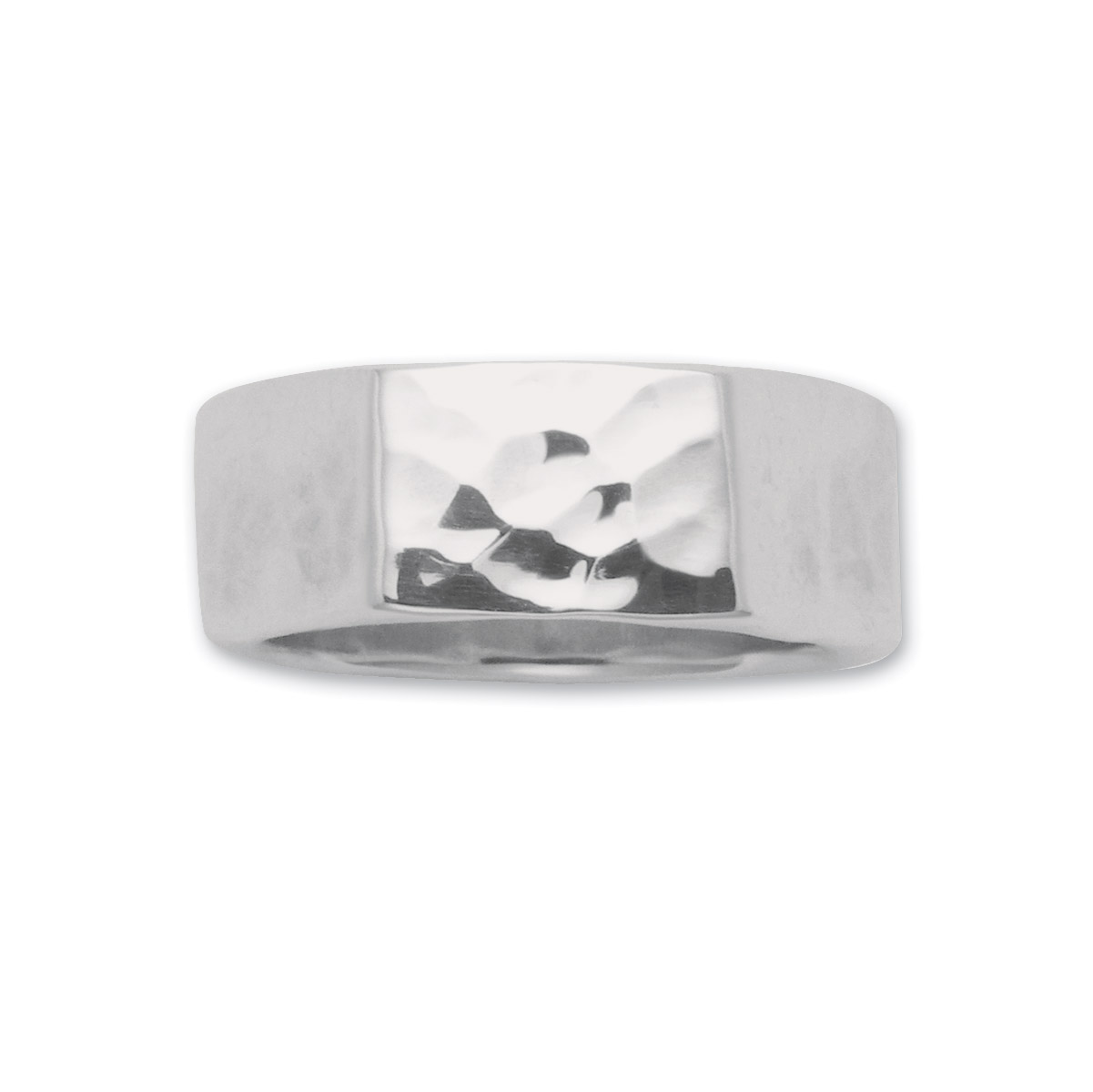Wildthings Sterling Silver Wide Texture Ring