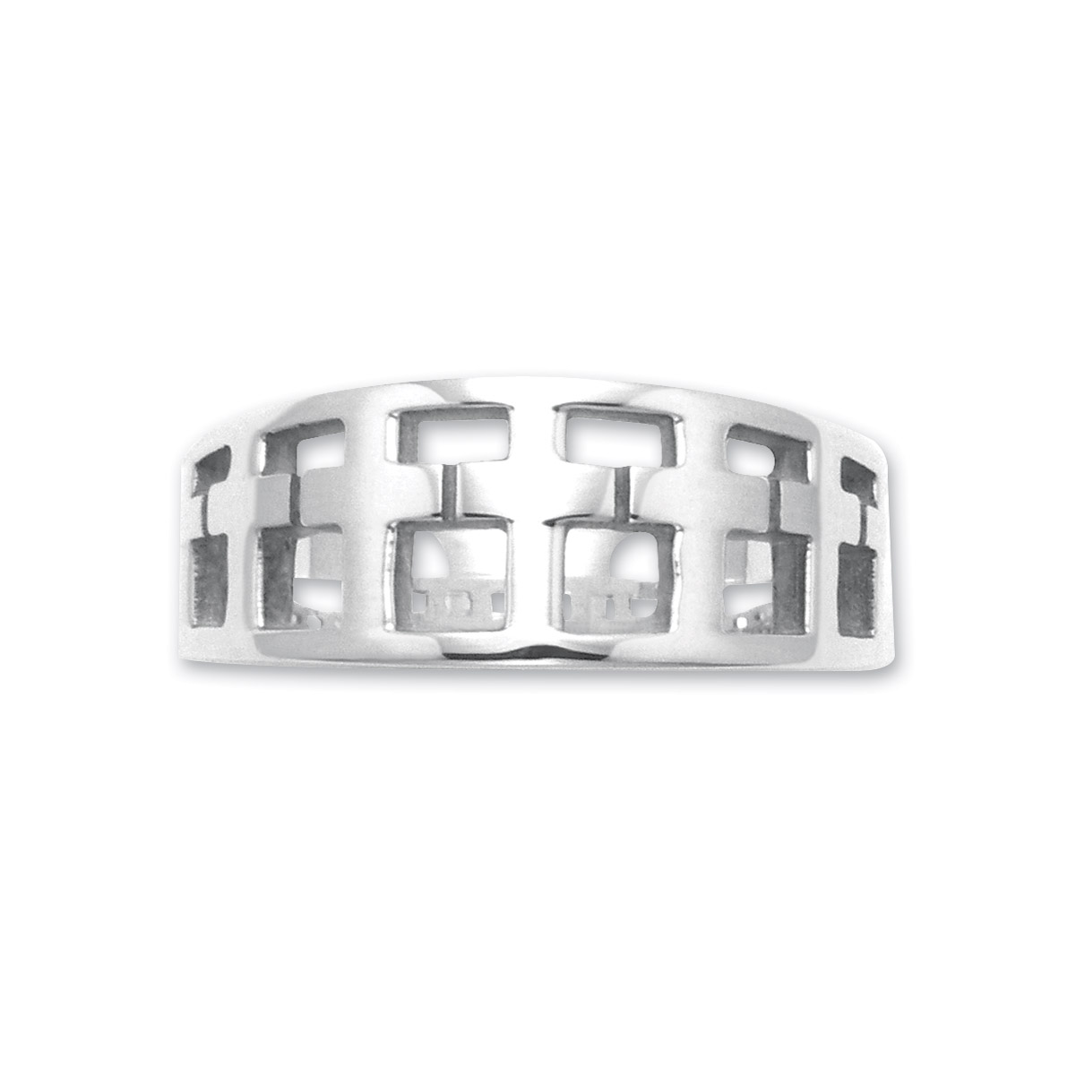 Wildthings Sterling Silver Multi Cross Ring