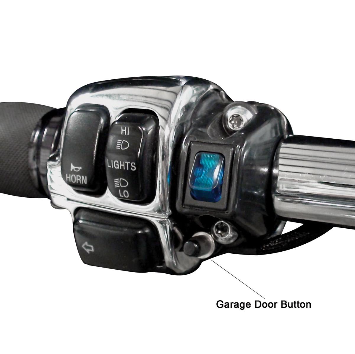 Grip Switch Push Botton Garage Door Opener With Additional