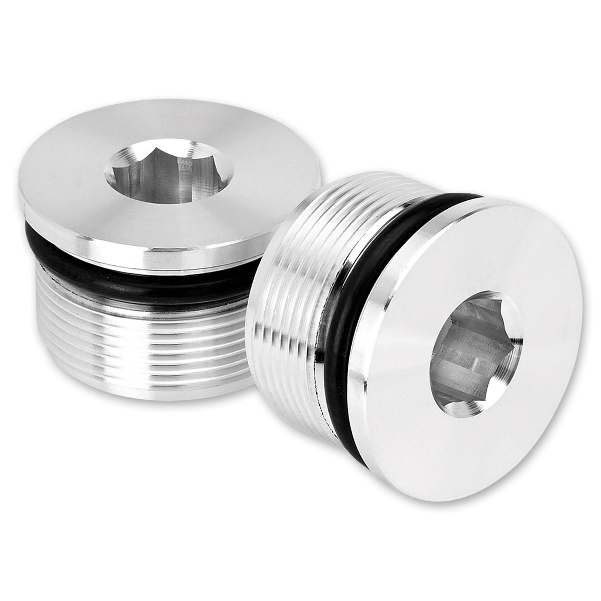 Lowbrow Customs  Aluminum 39mm Low Profile Fork Caps