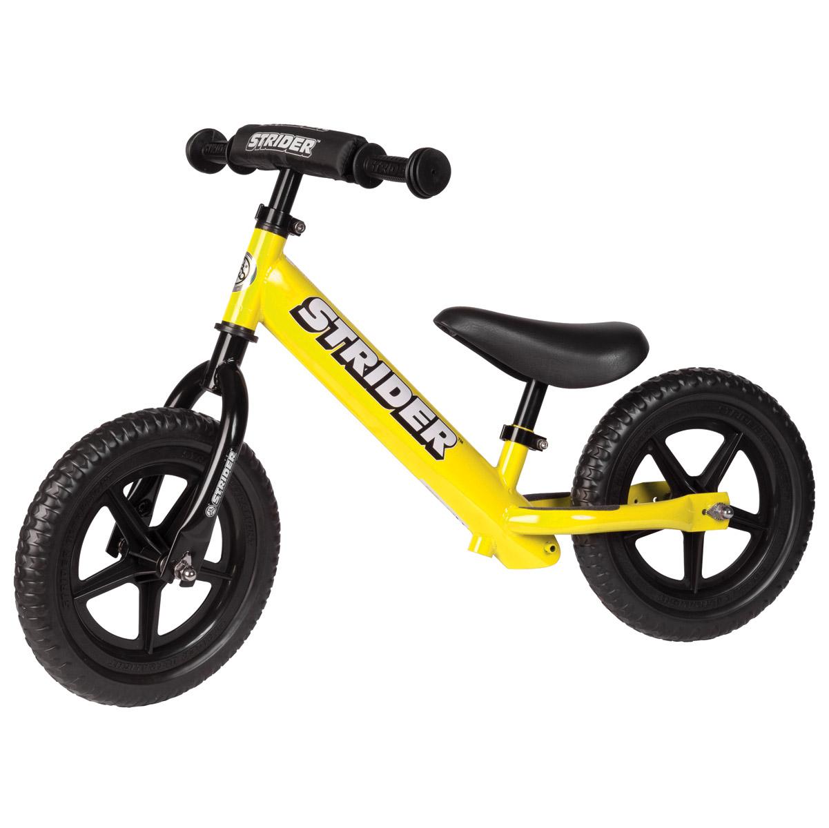 Strider Sports International Inc. 12 Sport No-Pedal Yellow Bike