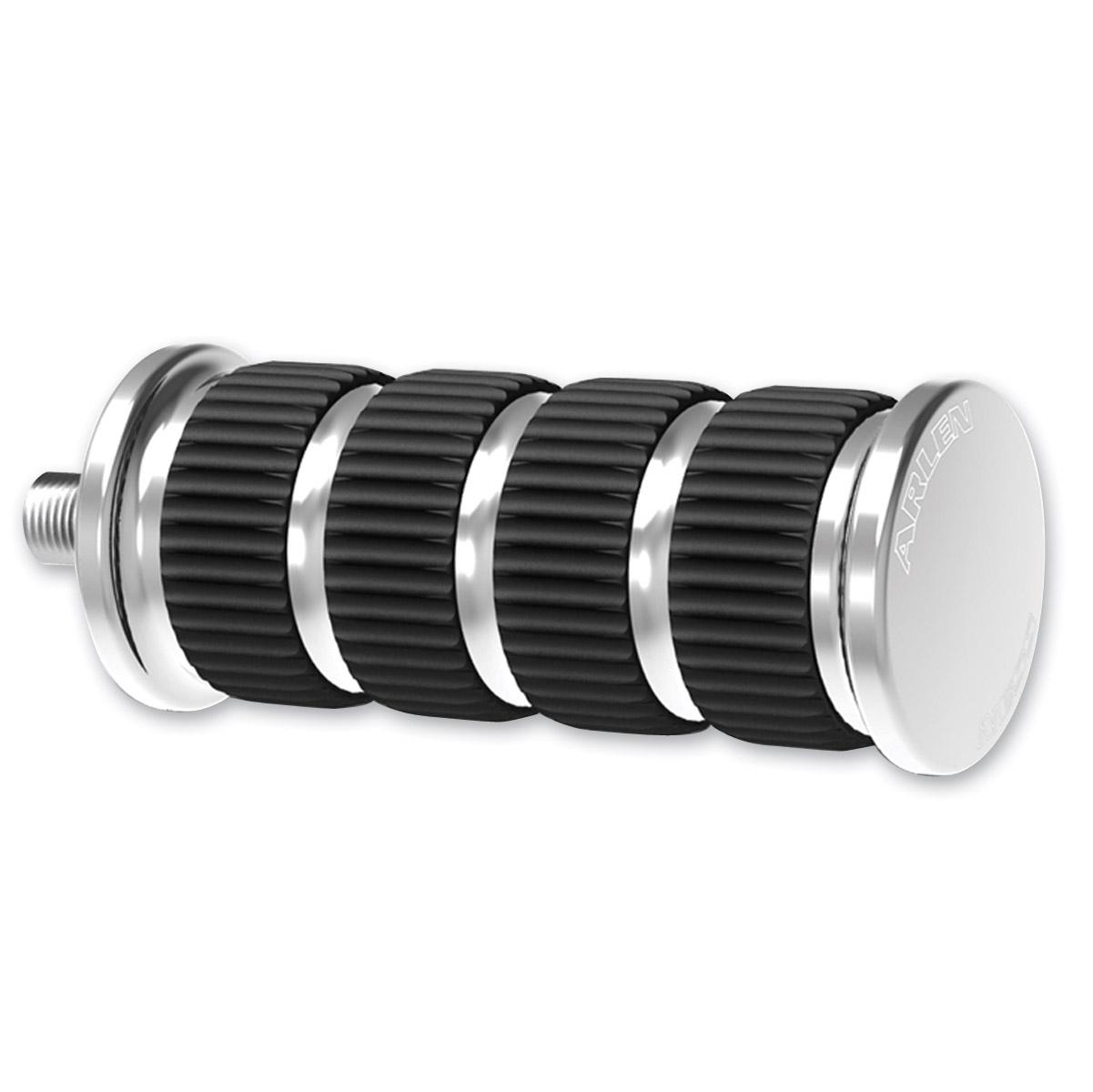 Arlen Ness Ring Leader Fusion Chrome Shift/Brake Peg