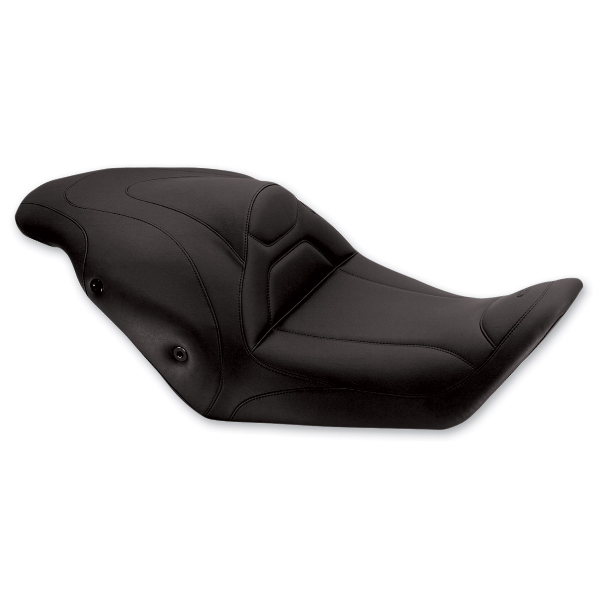 Mustang Tripper Fastback One-Piece Seat, Original, Black