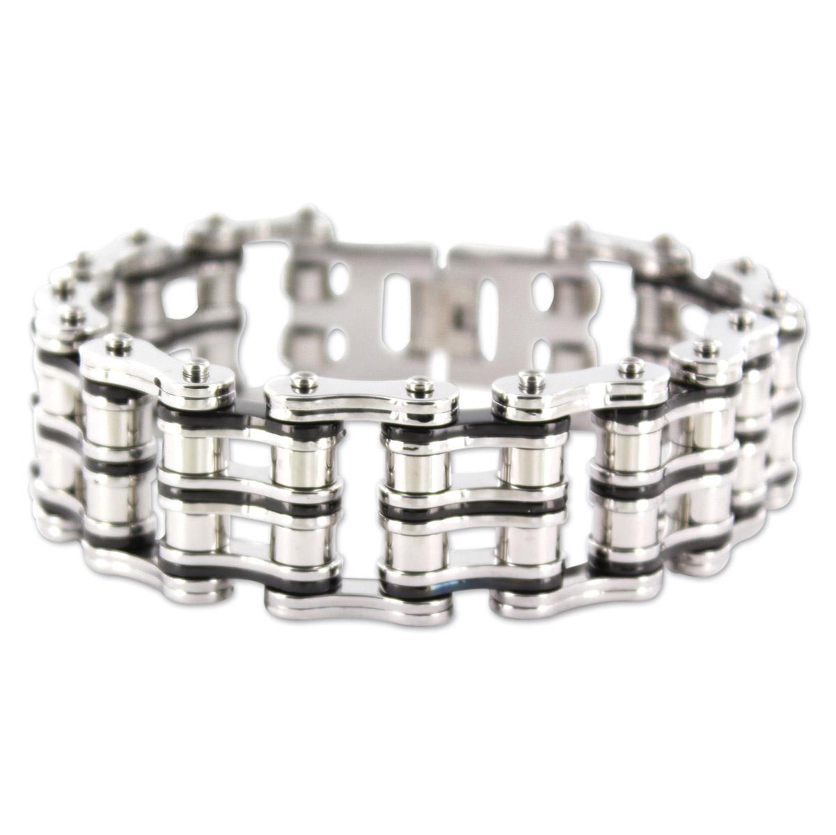 Kodiak 2-Tone Chain Bracelet