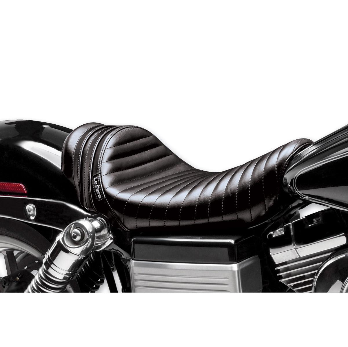 Le Pera Stubs Spoiler Seat - Black Stripes