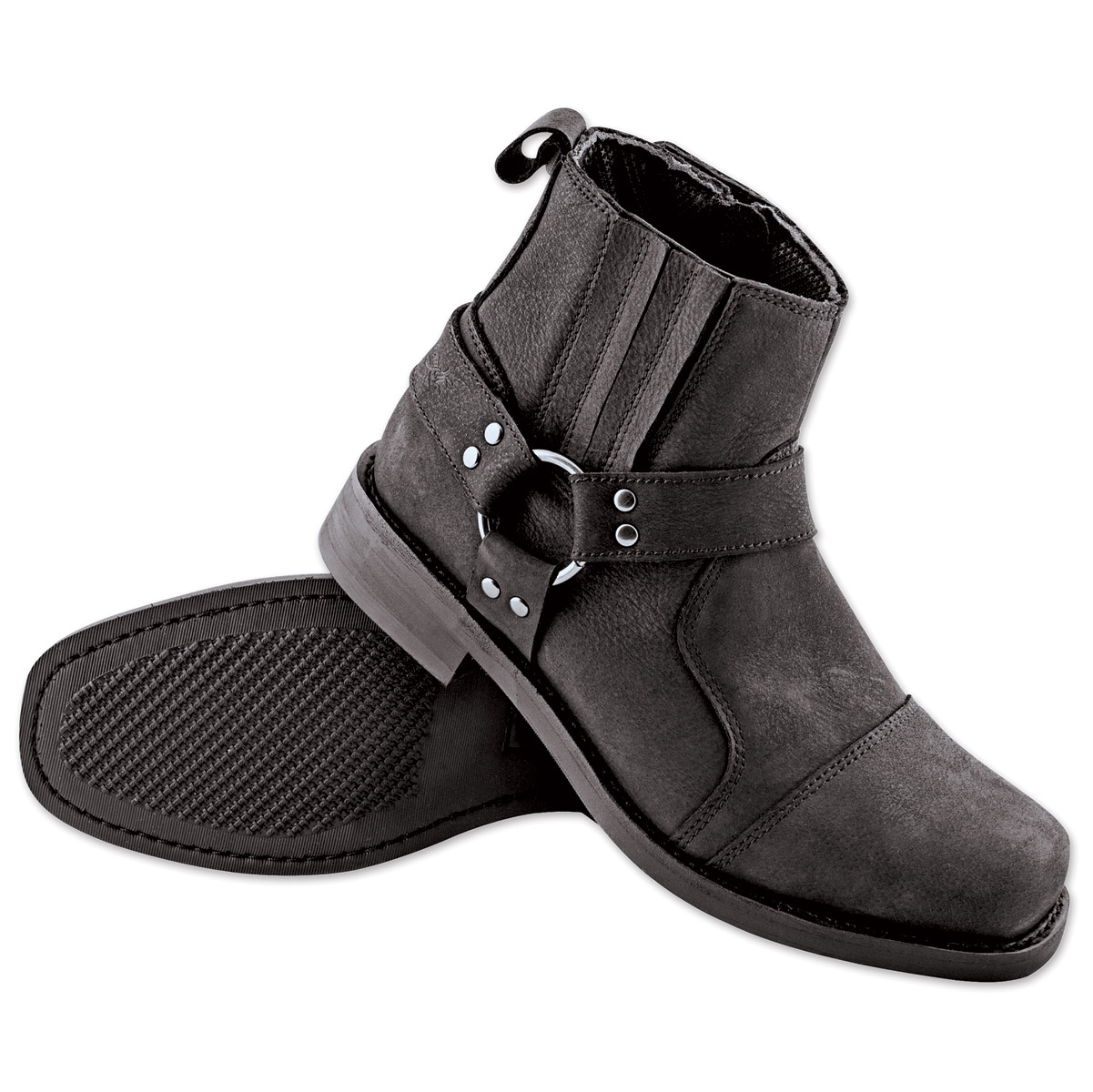 Speed and Strength Cruise Missile Men's Black Leather Boots | 163 ...