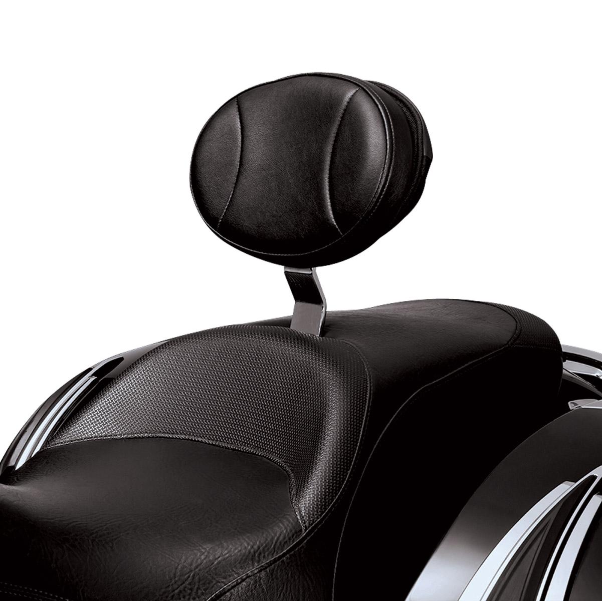 Kuryakyn Plug-N-Go Driver Backrest with Pouch