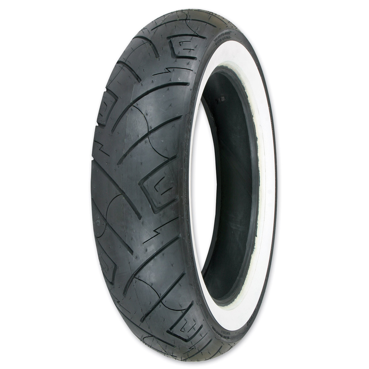 Shinko 777 HD 150/90-15 Wide Whitewall Rear Tire